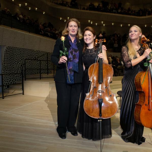 50 Jahre Deutsche Stiftung Musikleben @Elbphilharmonie Hamburg with Irene Schulte-Hillen ©Juergen Joost