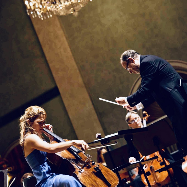 Elgar Cello Concert with Philharmonie Baden-Baden ©Bongartz