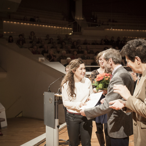 Prizewinner Ceremony Grand Prix Emanuel Feuermann @Philharmonie ©Dan Hannen