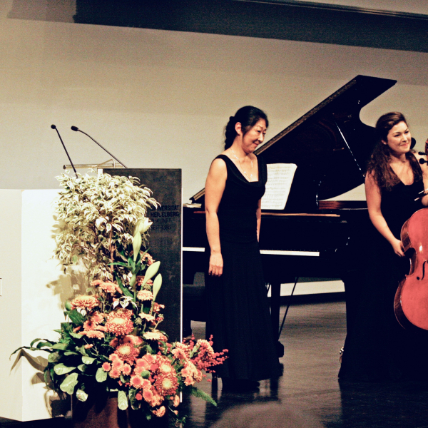 Recital with Keiko Tamura - Heidelberg