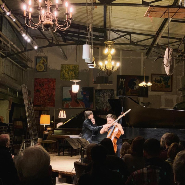 Rezital with Amadeus Wiesensee @Pianosalon Christophori Berlin