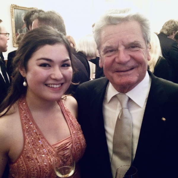 Schloss Bellevue with Joachim Gauck