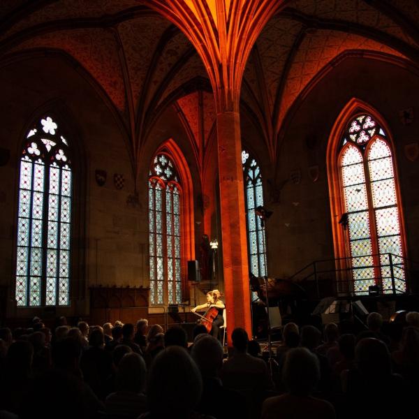 Solo Performance PODIUM Esslingen Kloster Bebenhausen ©PODIUM
