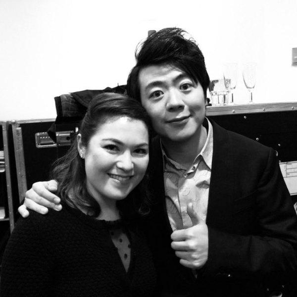 with Lang Lang