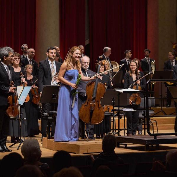 with Philharmonie Baden Baden, Werner Stiefel © Bongartz