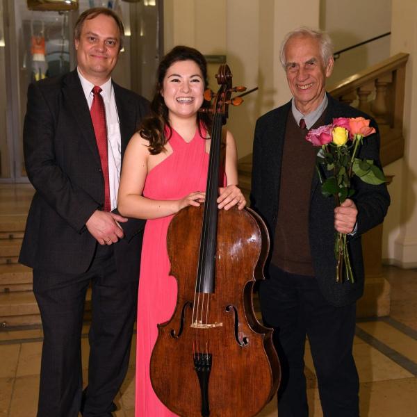 with Troels Svane and Wolfgang Boettcher - Wettbewerb des deutschen Musikinstrumentenfonds Hamburg ©DSM