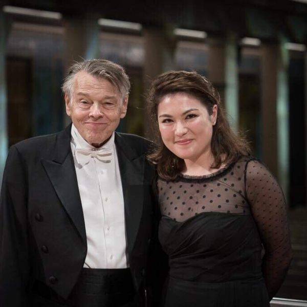 with Mariss Jansons @Herkulessaal Muenchen ©Peter Meisel